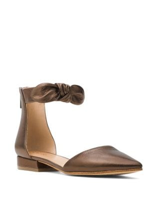 Alina Leather d'Orsay Flats by MICHAEL MICHAEL KORS