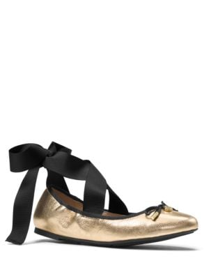 Myles Leather Ballet Flats by MICHAEL MICHAEL KORS
