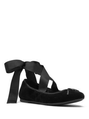 Myles Velvet Ballet Shoes by MICHAEL MICHAEL KORS