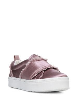 Levine Satin Sneakers by Sam Edelman