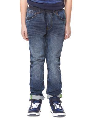 Boys Whiskered Jeans