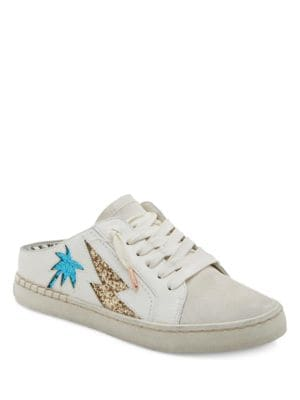 Z-Palmtree Leather Slide Sneakers by Dolce Vita