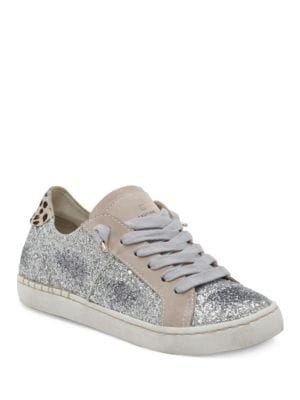 Z-Glitter Lace-Up Sneakers by Dolce Vita