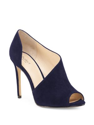 Adelia D'Orsay Suede Pumps by Botkier New York