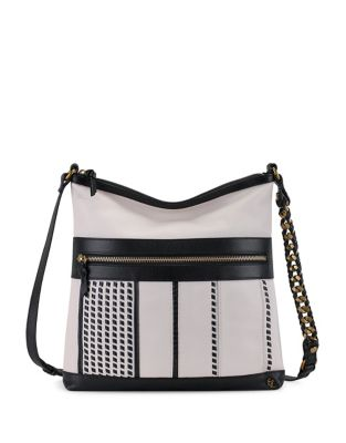 Gini Flat Leather Crossbody Bag 500087118935