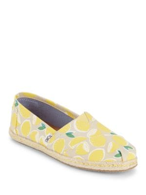 Alpha Season Cotton Espadrille by TOMS
