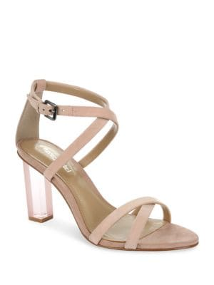 Driscoll Lucite High Heel Dress Sandals by Luxury Rebel