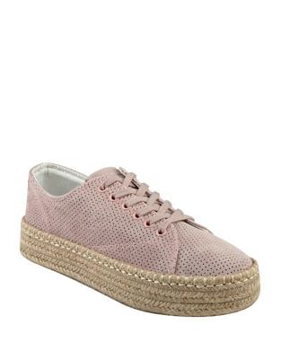 Eve3 Leather Platform Sneakers by Tretorn