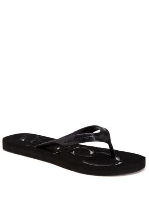 Dabney Jelly Thong Sandals by Calvin Klein