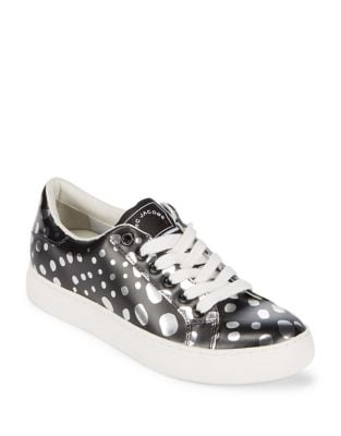 Empire Patterned Lace-Up Sneakers by Marc Jacobs