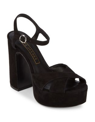 Lust Leather Platform Sandals by Marc Jacobs