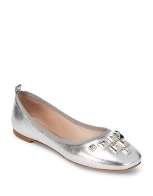 Cleo Leather Ballet Flats by Marc Jacobs