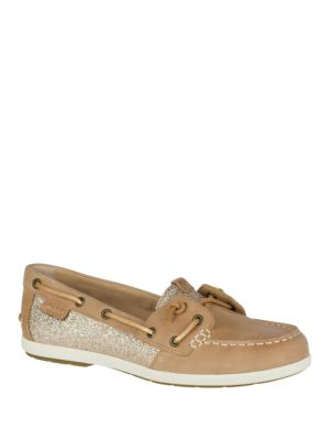 Glittered Boat Shoe by Sperry