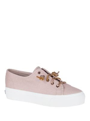 Sky Sail Metallic PlatForm Sneakers by Sperry