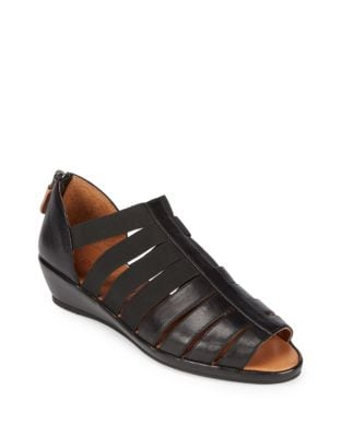 Lana Leather Wedge Sandals by Gentle Souls