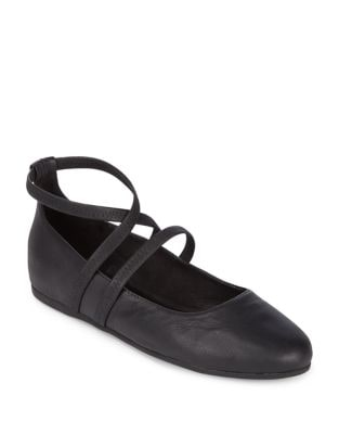 Joe Strappy Ballet Flats by Eileen Fisher