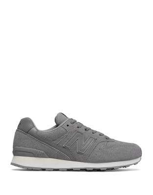 696 Suede Lace-Up Running Sneakers by New Balance