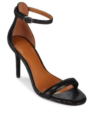 Ankle Strap Heeled Sandals by H Halston