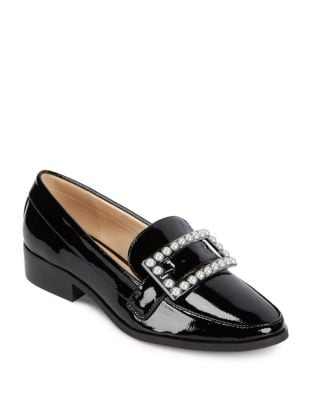 Embellished Buckle-Accented Loafers by IMNYC Isaac Mizrahi