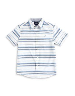 Boys Striped Sportshirt