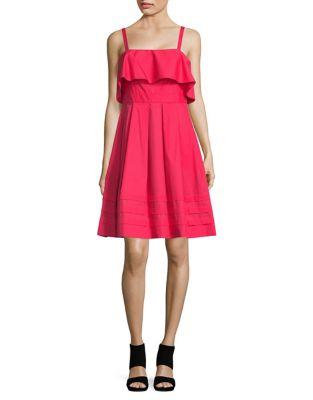 Tank Top Pleated Dress by Eliza J