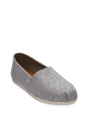 Buy Alpha Season Cotton Flats by TOMS online