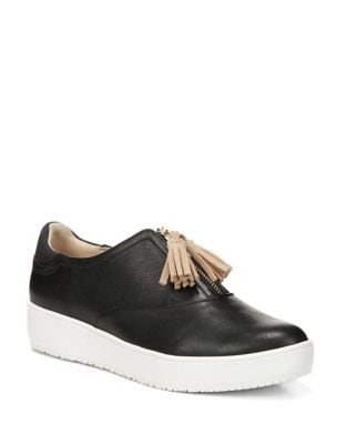 Blake Zip Leather Sneakers by Dr. Scholl's