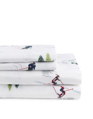 FourPiece Flannel Queen Sheet Set