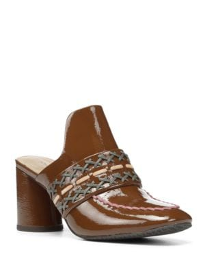 Garcea Leather Slip-On Mules by Donald J Pliner
