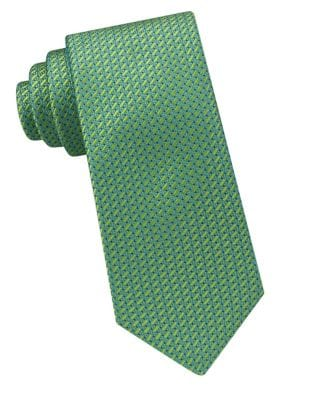Embroidered Silk Tie by MICHAEL MICHAEL KORS