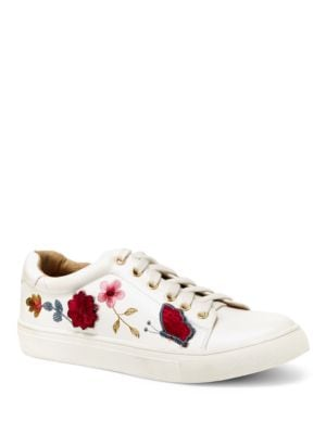 Wildflower Low Top Sneakers by Nanette By Nanette Lepore