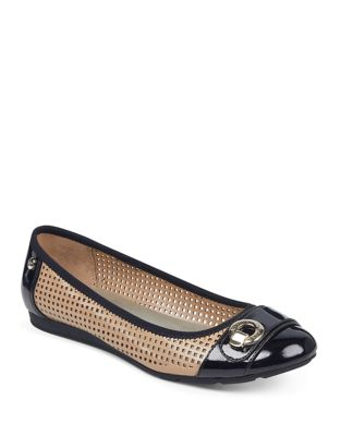 Sport Azip Slip-On Flats by Anne Klein