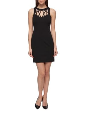 Sleeveless Solid Dress by Guess