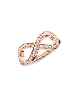 Sterling Silver Infinity Ring 500087135002