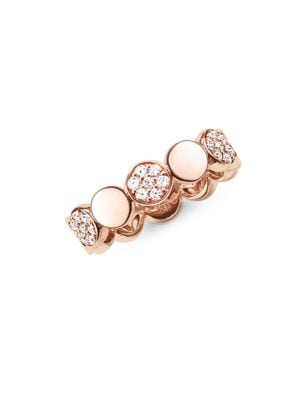 Sparkling Circles Sterling Silver Ring 500087135046
