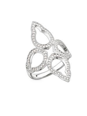 Flower Oriental Sterling Silver Ring 500087135049