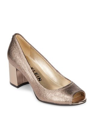 Meredith Leather Dress Pumps by Anne Klein