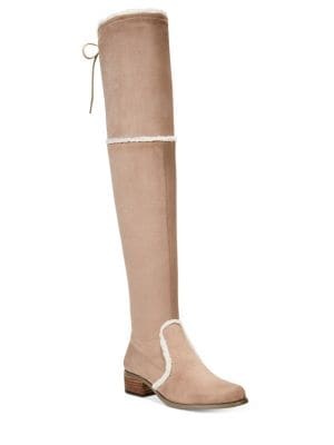 Gunter Microsuede Over-The-Knee Boots by Charles by Charles David