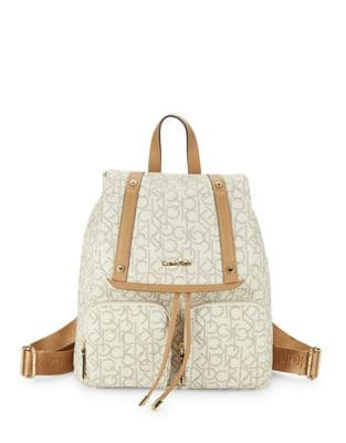 Monogrammed Printed Backpack...