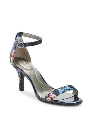 Madia Floral Textile Sandals by Bandolino
