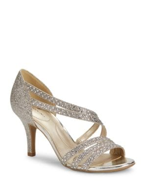 Meggie Studded Open-Toe Pumps by Bandolino