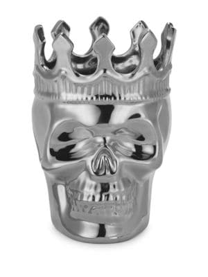 Tea Aroma Crowned Skull Candle 500087139384