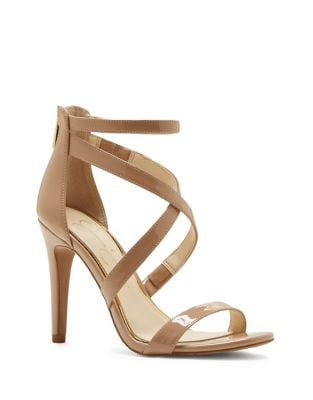 Ellenie Patent Sandals by Jessica Simpson