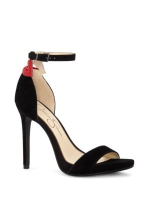 Reenah Suede Platform Sandals by Jessica Simpson