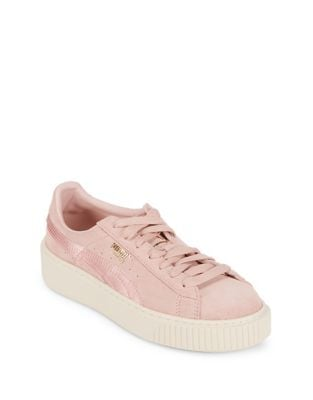 Plaform Lace-Up Sneakers by PUMA