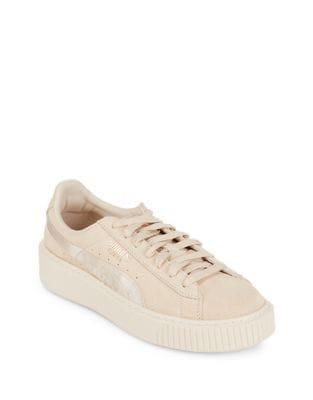 Suede Platform Sneakers by PUMA