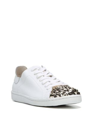 Pyper Leather Lace-Up Sneakers by Fergie