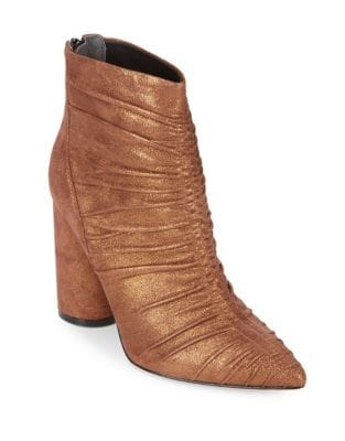 Kimay Leather Booties by Sigerson Morrison