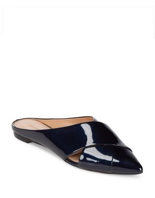 Sheldon Leather Mules by Sigerson Morrison