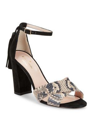 Idanna Block Heel Sandals by Kate Spade New York